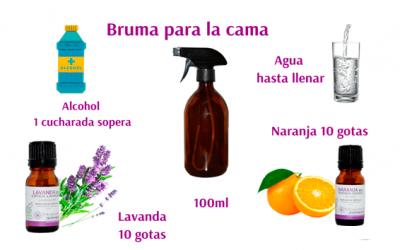 Receta de Bruma, refresca y aromatiza tu cama.